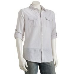 Marc Anthony Striped Casual Button-Down Shirt - Men - product - Product Review