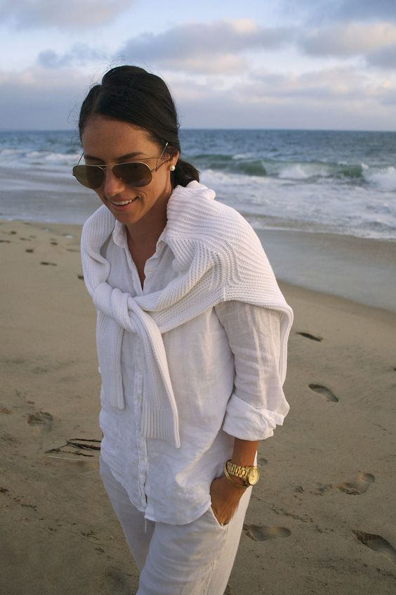 | summer white layers |