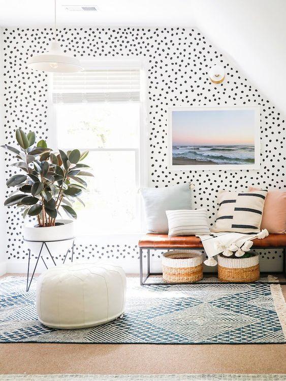 Inside The Bright + Happy Home Of Sunny Circle Studio's Erin Wheeler | Glitter Guide