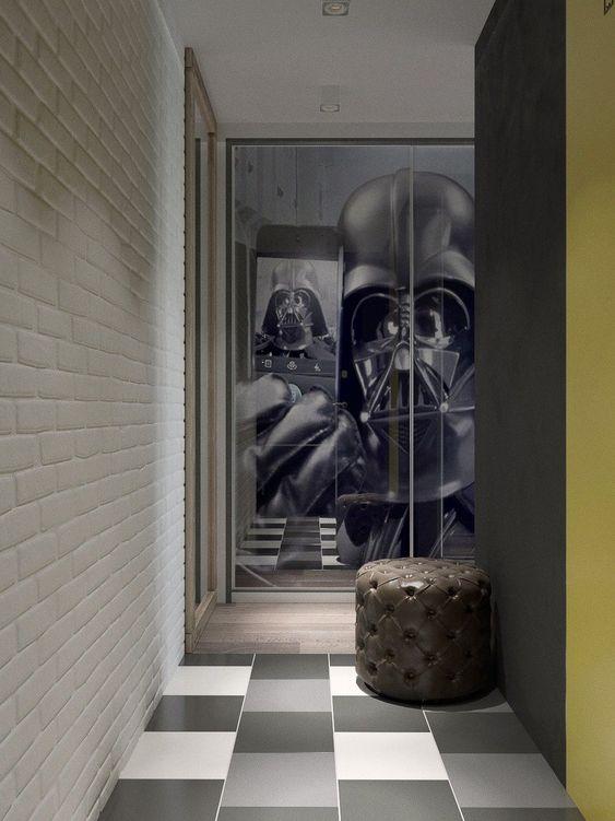 Фотография: Прихожая в стиле Лофт, Квартира, Студия, Проект недели, Москва, Павел Алексеев, дом серии 1-447, хрущевка – фото на InMyRoom.ru