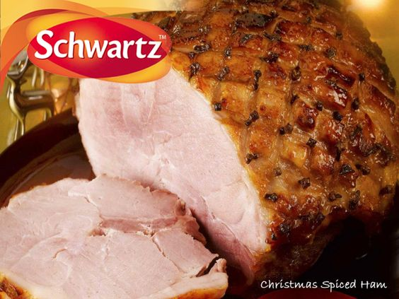 A succulent Christmas ham finished with a cinnamon and sherry flavoured glaze and studded with whole cloves.    https://www.facebook.com/photo.php?fbid=388178774600413=a.388178717933752.92845.114457901972503=3