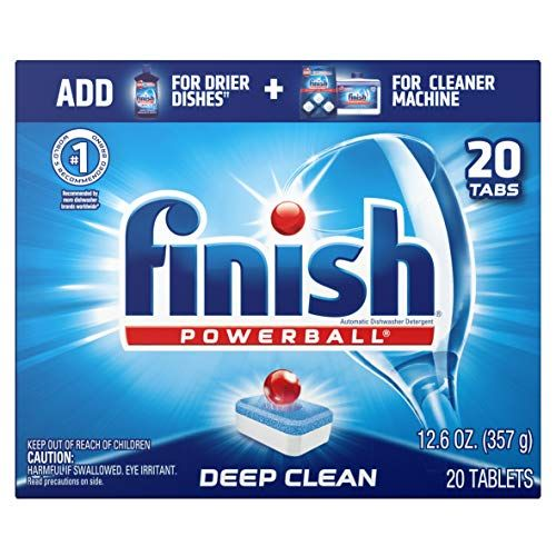 Finish All In 1 Powerball Fresh 20ct Dishwasher Detergent