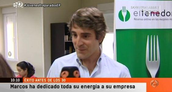 Entrevista a Marcos Alves, CEO de @eltenedor , en Espejo Público de Antena 3