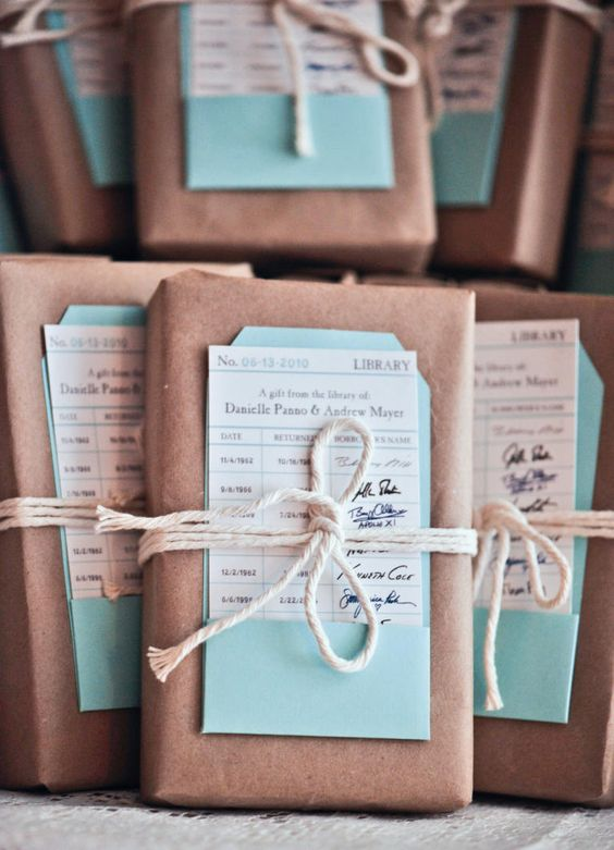 Wedding Gifts For Guests Pinterest : Show your appreciation to your wedding guests with your wedding favors ...