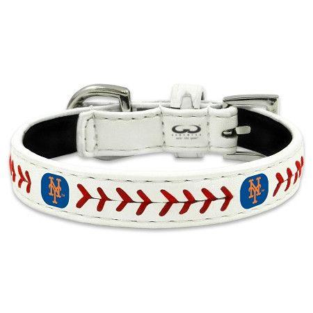 New York METS MLB Leather Collar
