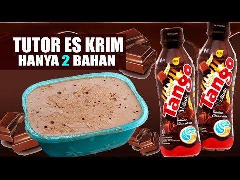 Es Krim Tango Lembut Hanya Dengan 2 Bahan Hasil Melimpah 3x Lipat Youtube Es Krim Makanan Dan Minuman Makanan