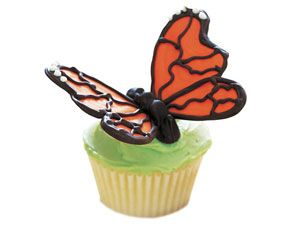 tutorial: butterfly cupcake