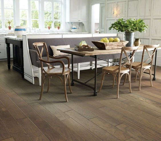 I love the shaw website for flooring. they have design tips ...