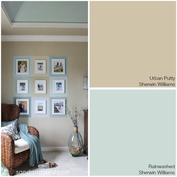 My coastal colors paint colors urban and living rooms for Warm sand paint color
