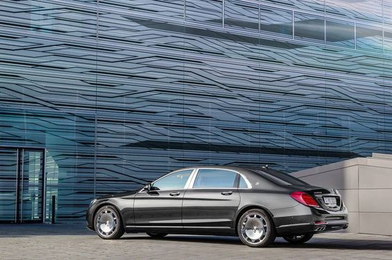 La nouvelle Mercedes-Maybach S 600