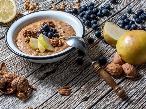 Porridge de flocons d'avoine au cacao #porridge #petitdej