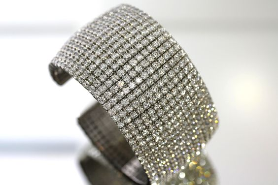 A diamond cuff bracelet would be a nice surprise under the tree.
