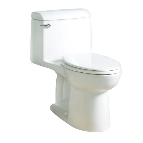 American Standard Champion White Elongated Standard Height Vitreous China Toilet 12 In Rough In Size Ada Compliant Lowes Com In 2020 One Piece Toilets American Standard Marble Vanity Tops