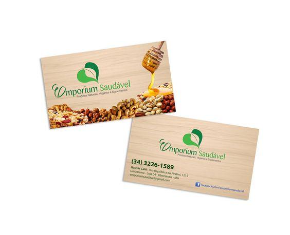 Emporium Saudável - Cartão de Visita para a loja