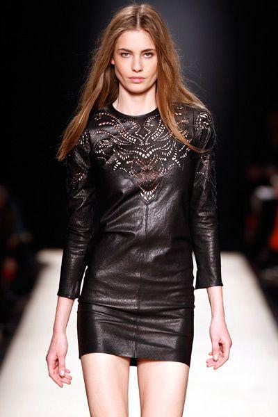 Leather Black Dress Isabel Marant