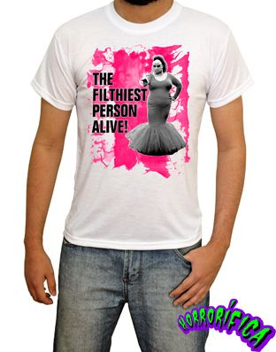 Camiseta Divine (Pink Flamingos)   http://www.lojahorrorifica.com.br/3d3dd/camiseta-divine-pink-flamingos