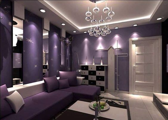 PURPLE DECOR This Is The Color Of My Room I Should Paint Little Stars On