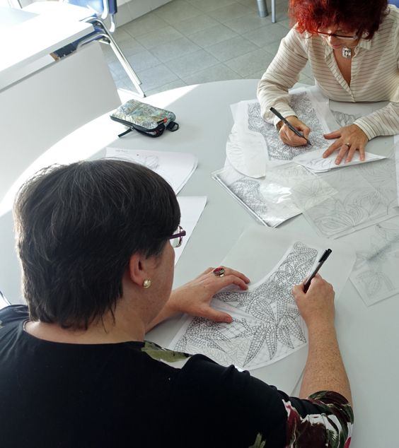 El bolero de Encaje para el 10º Congreso de Pontevedra 23-25 de Abril 2015   Escuela de Encajes