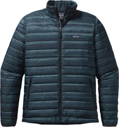 The Patagonia men's down sweater delivers ultralight, compressible and windproof…
