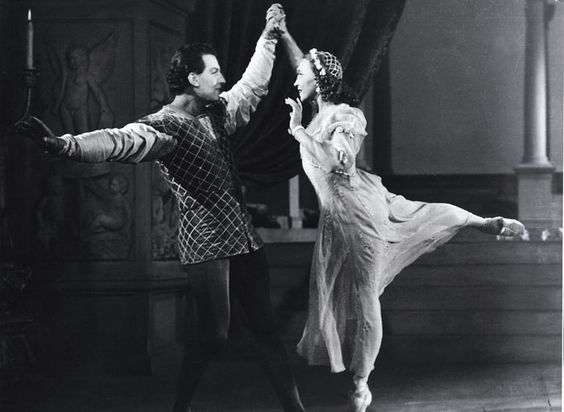 Resultado de imagen para Galina Ulanova and Yury Zhdanov in the ballet