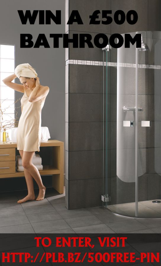 Win a £500 #Bathroom - Visit http://plb.bz/500free-pin to enter!