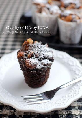 チョコカップケーキ(ミックス粉で簡単♪)|レシピブログ