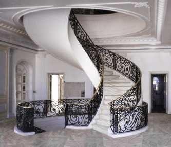سلم حديد خارجي درابزين سلالم سلم حديد دوران سلالم فيرفورجيه سلالم حديد داخلية دوران Stairs Spiral Stairs Decor