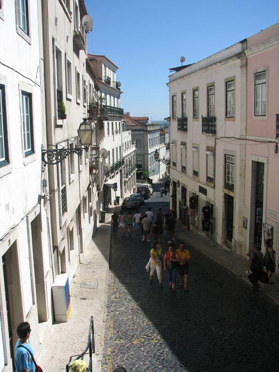Lisboa - Bairro do Castelo