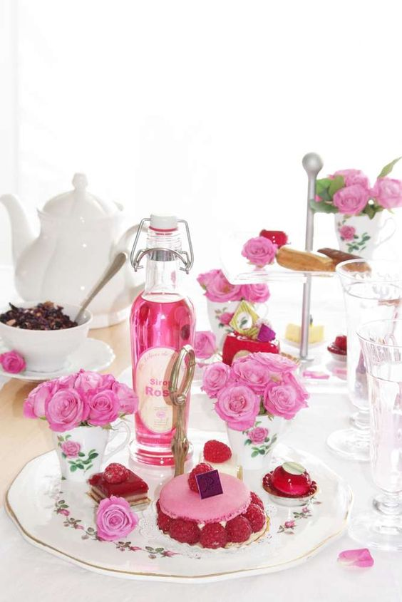 The Most Fragrant Roses Party Tea Party Party Ideas | Photo 2 of 18