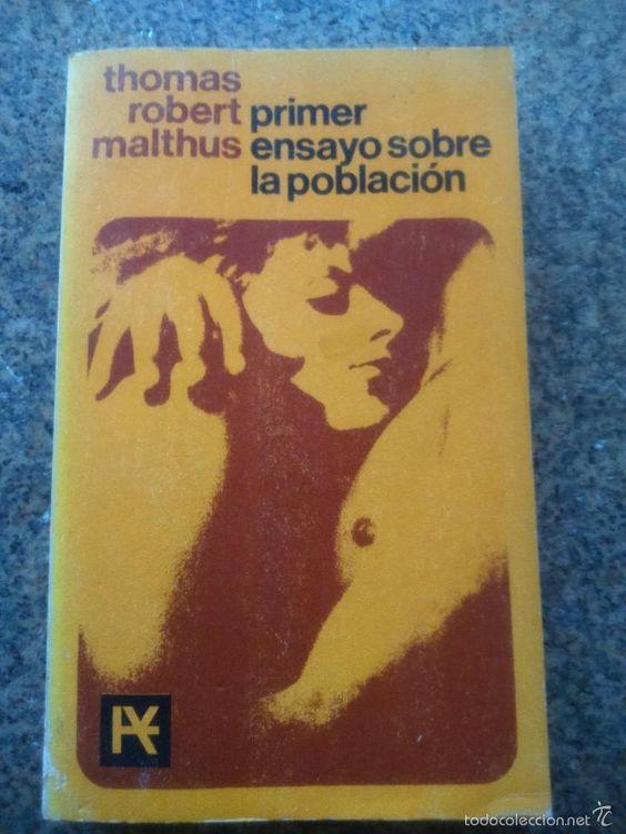 PRIMER ENSAYO SOBRE LA POBLACION -- THOMAS ROBERT MALTHUS -- ALIANZA EDITORIAL -1966 -- - Foto 1