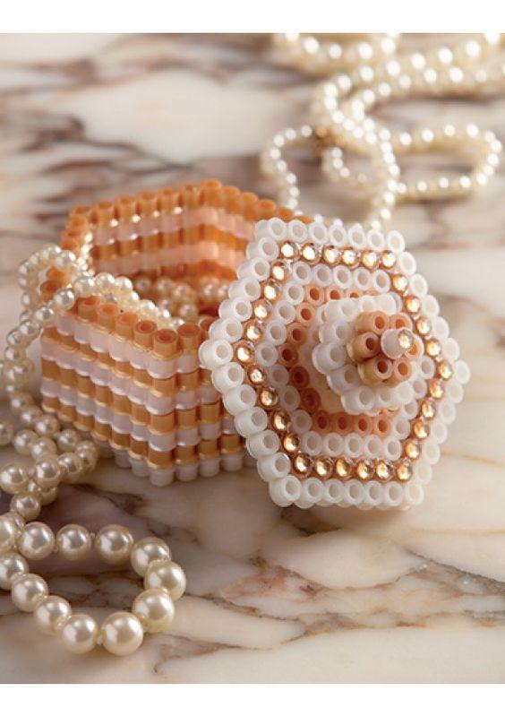 Perles à repasser - Boîte à bijoux