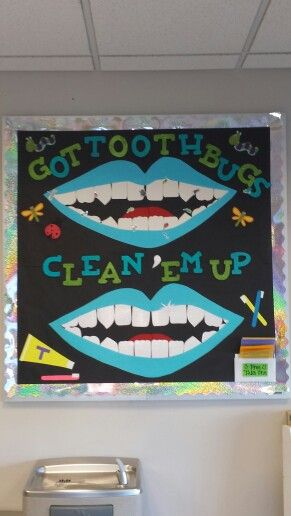 Dental Assisting Bulletin Board Project Toothbugs Get