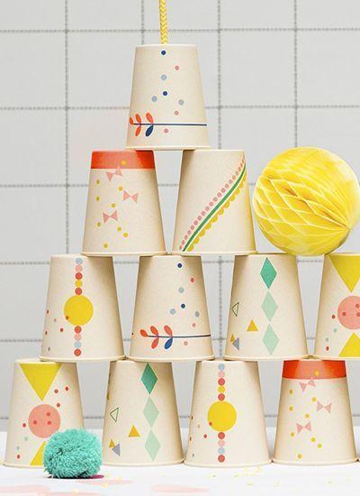 print & pattern blog - engel cups