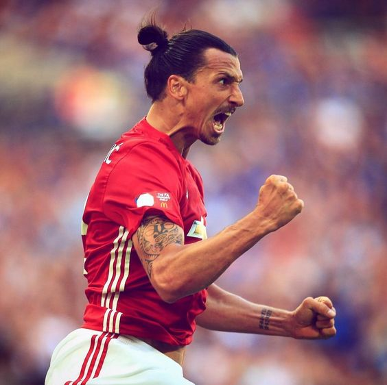 One game. One goal. One trophy. One ZLATAN DOUBLE TAP | Tag a friend who should see this