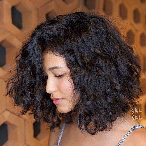 Short Thick Curly Hair Cabelo 2b Cabelo Bonito Cabelo 3a