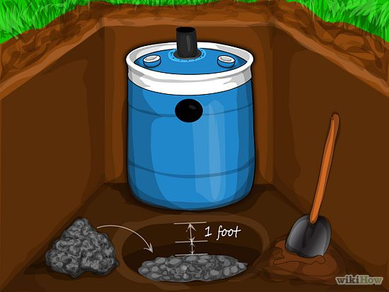 How to construct a small septic system a small off the for Cabin septic systems