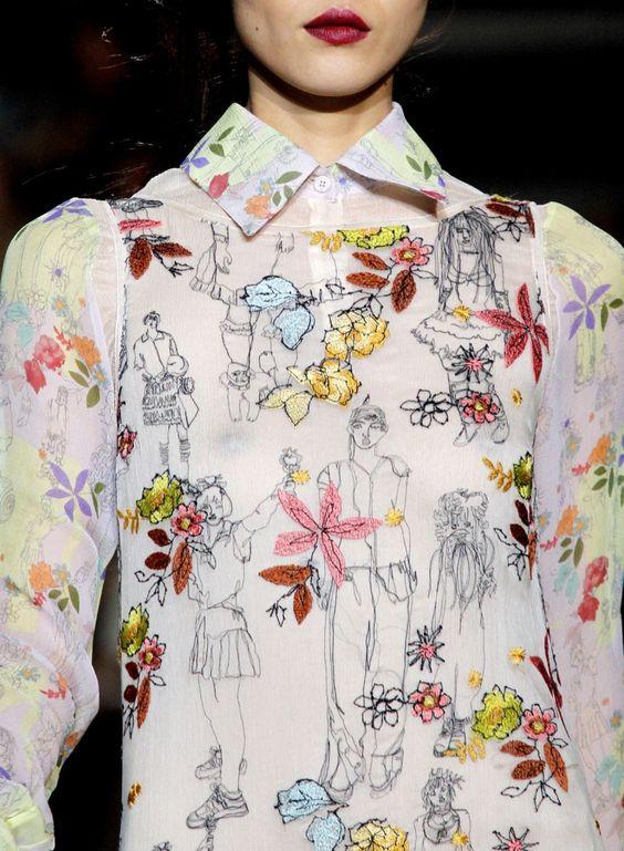 Embroidery - Missoni Fall 2011