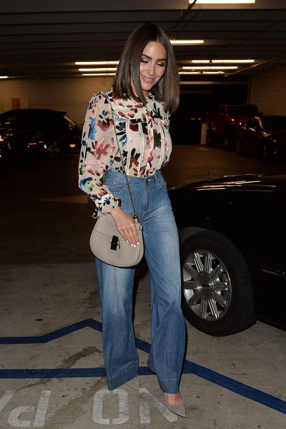 Olivia Culpo at Alice + Olivia Eyewear is Art Event in Los Angeles on April 13, 2017