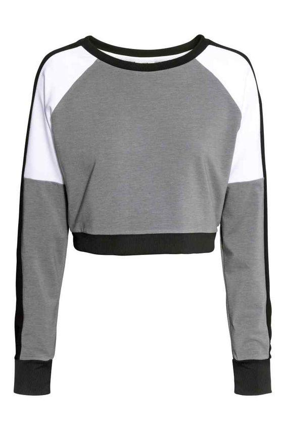 Jersey deportivo corto   H&M