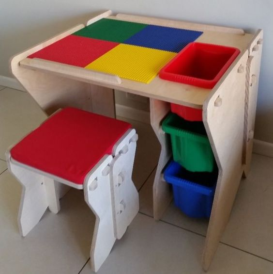 kids activity table for lego somerset west gumtree. Black Bedroom Furniture Sets. Home Design Ideas