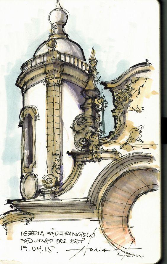 torre da igreja são francisco de assis em são joão del rei