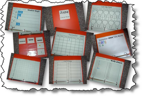 Love her Calendar Binders---I used this idea three years ago with my older kids, I am ready to repeat it with my three youngest in school.  It is great for morning routine for a homeschool family with multiple ages.