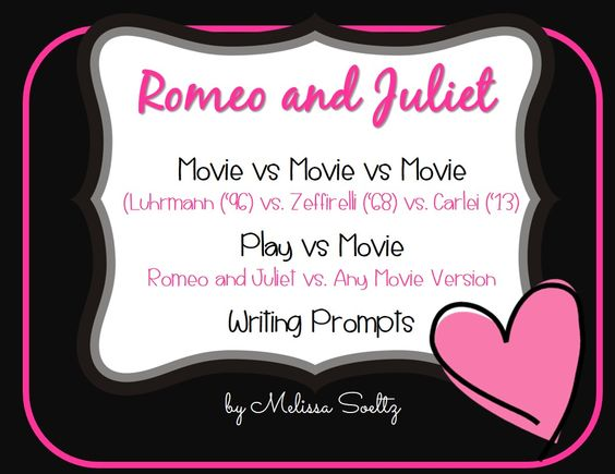 romeo juliet movie comparison Benefits of the movie: romeo and juliet is an excellent introduction to shakespeare the story allows children to work through the issue of tragic romantic relationships the story allows children to work through the issue of tragic romantic relationships.