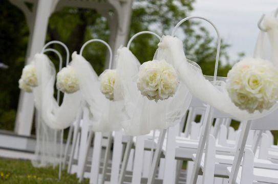 Addobbi Matrimonio Con Tulle - Fotogallery  Decorazioni navata