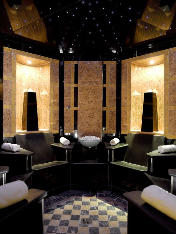 Steam room hotel sacher wien vienna spa luxury for Hotel spa design