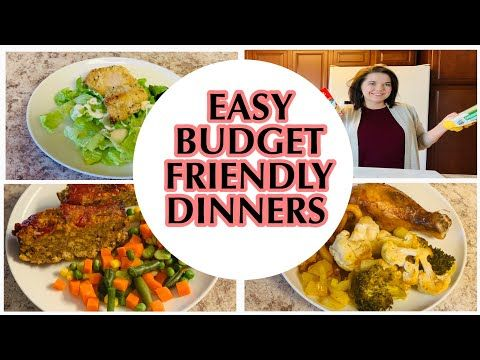Easy Affordable Family Dinner Ideas Budget Friendly Meal Ideas Stay Home Cook With Me Yout In 2020 Budget Friendly Recipes Budget Friendly Dinner Family Dinner
