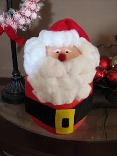 Milk Jug Santa