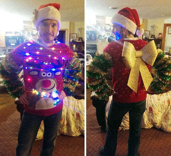 Corny Ugly Christmas Sweater