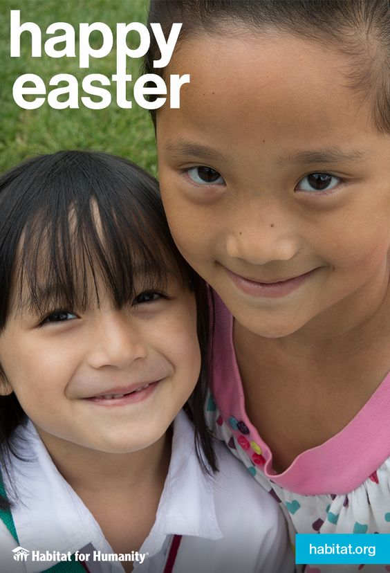 #HabitatforHumanity wishes #everyone a happy and blessed #Easter.