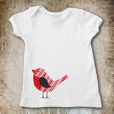Bird Applique Patterns:  Tee Shirt, Apply Template, Apply Patterns,  T-Shirt, Pdf Pattern, Sewing Pattern, Apply Design, Bird Applies
